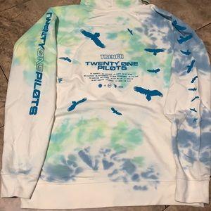 Twenty one pilots hoodie size XL